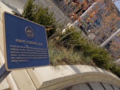 Poured concrete planters no problem for Lakeridge