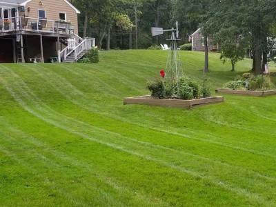 Lawn cut (Ipswich, MA)