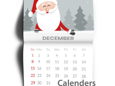 Wall calendars are a marketing tool that will be visible to clients all year long.