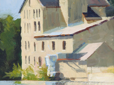 Elora Old Mill 9X12 | oil on panel | $500.00