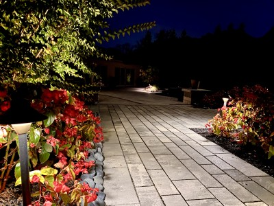Artline Pavers, Annuals, and Pathway Lights