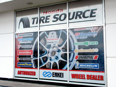 Tire Dealer Signs, Tire Displays, Tire Banners, Tire Marketing, Garage Signage, Detailing Images