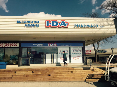 IDA pharmacy channel letters, Burlington On.