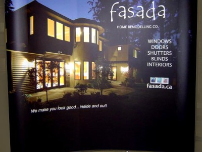 Fasada 8ft x 8ft pop up system