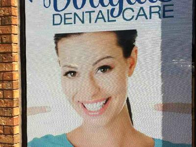 Dental window graphics.