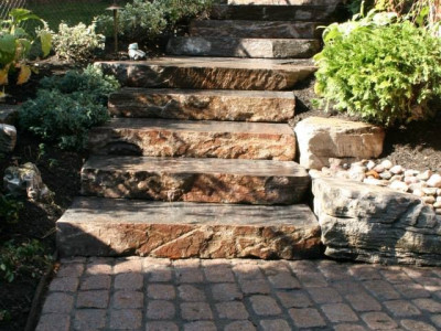 Enhance your backyard project with natural armour stone