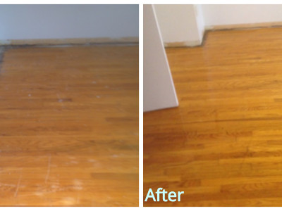 Hardwood Flooring - Cleaning and Recoating