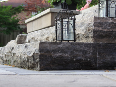 Natural stone products provide easy solutions to create great details in any outdoor space