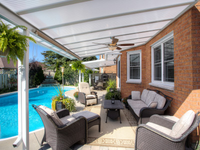 Pool-side Patio Cover