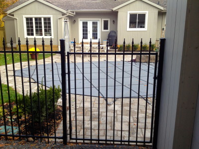 Nuvo Iron fence