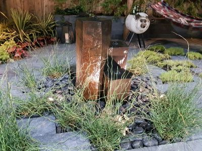 Water Features highlight landscape design