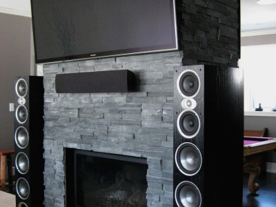 Polk Audio RTiA9s powered by a Sunfire TGA-7401 and Marantz AV8801