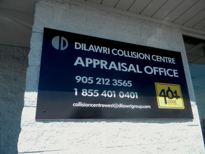 Exterior Composite Wall Sign