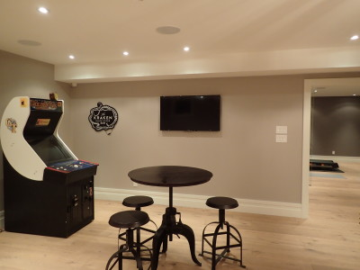 Games Room TV and Audio
