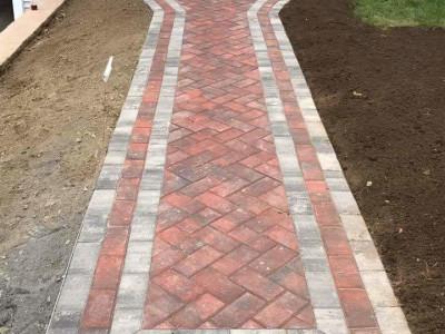 Completed - New walkway (Woburn, MA)