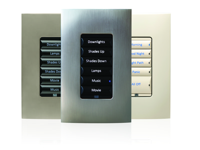 Control4 Configurable Keypads with Engraving