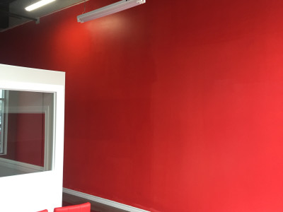 Photo 2 - red wall now
