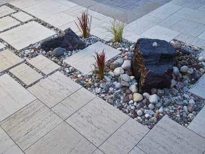 Water features add relaxing sound to your outdoor space