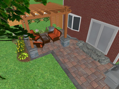 See your yard in 3D with our Landscape Design team