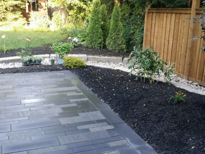 Unilock pavers provide modern looks in new patio projects