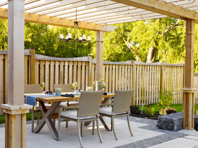 Dine outdoors all summer long