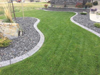 Decorative Custom Curbing
