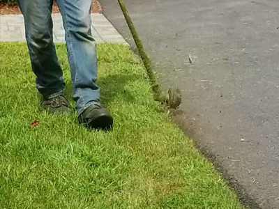 We always make sure everything is perfectly line edged during our weekly or bi weekly maintenance visits (Woburn, MA)