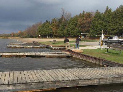 Emily Provincial Park Dock Repair