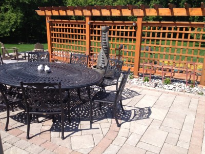 Design the perfect size patio for all your social gatherings of five or more when its legally allowed!
