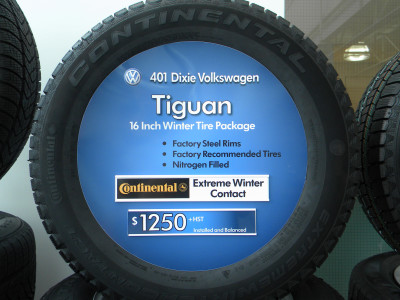 Custom Tire Inserts With Manufacture Logos & Fonts