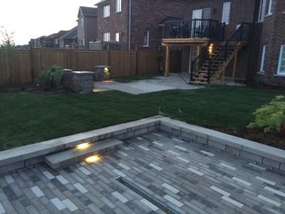 Landscape lighting extends backyard hours