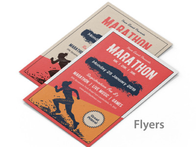 Flyers are great marketing tools that can be used to promote products and services.