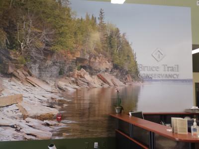 Bruce trail mural, Dundas Ontario.