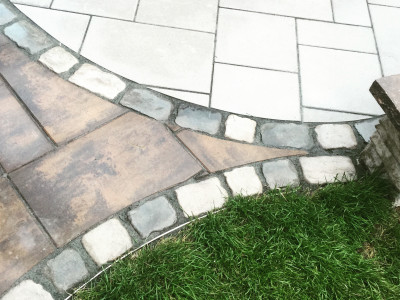 Unilock products highlight this patio