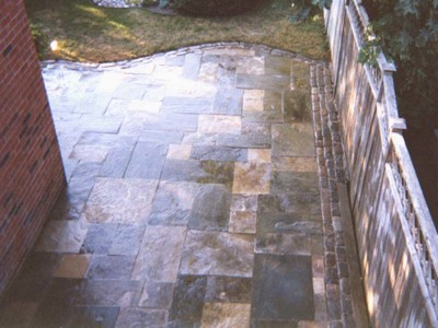 A patio built from natural stone will always be the highlight of any outdoor space