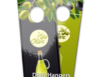 Door Hangers are highly effective marketing tools that are immediately noticed when opening the door on which it is placed.
