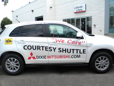 Service Shuttle Graphics