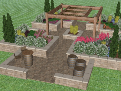 Canada Blooms 2020 garden Landscape design