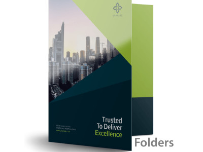 Presentation folders are best used as a means to hold documents for organization and presentations.