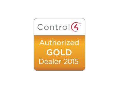 2015 Control4 Gold Dealer Status