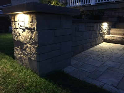 Landscape lighting highlights any outdoor space