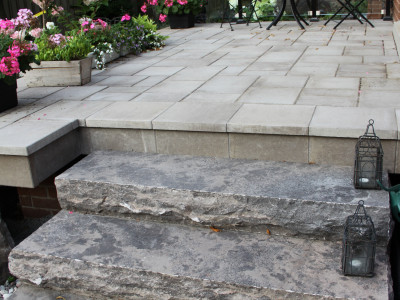Adding levels is a sound way to ensure your landscape design is social distancing friendly!