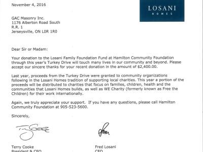 Hamilton Community Foundation (2016)