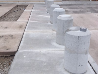 Have a unique bollard install in mind?  We have the experience!