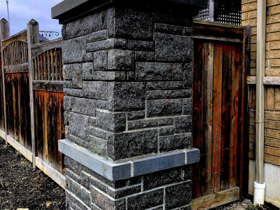 Natural Granite Pillar