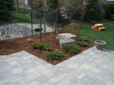 Spring cleanup and mulching