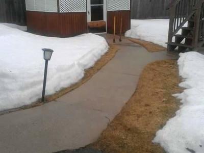 Before - New walkway (Reading, MA)