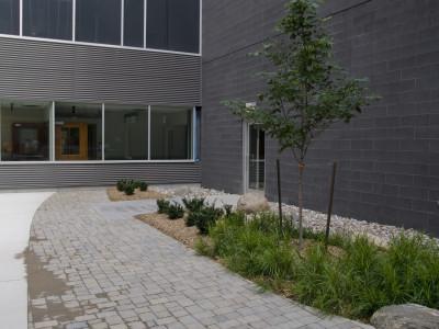 Peterborough Hospital Re-hab Courtyard