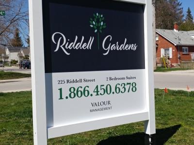 Rental property sign, custom made, Hamilton Ontario