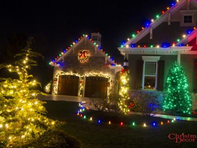 Mechanicsburg, PA Holiday Lighting Display Multi-Color